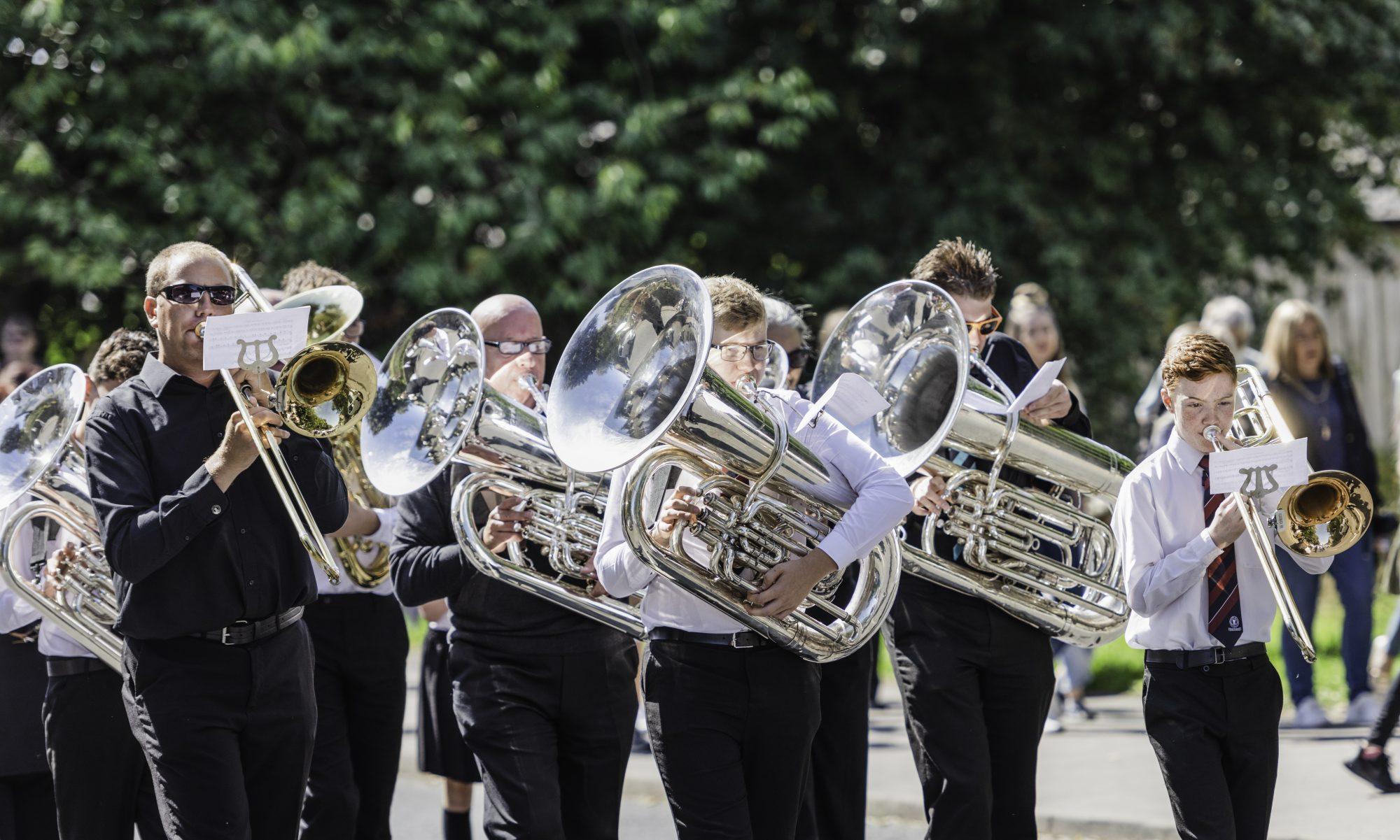 Whitworth Vale and Healey Band
